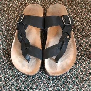 White Mountain Braided Sandal